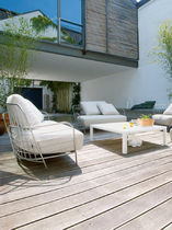 contemporary garden sofa PASSIO by Philippe Nigro Ligne Roset France