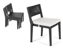 contemporary garden stacking chair TF 0760 Nature Corners Co.,Ltd.