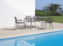 contemporary garden stacking chair OCEAN CLUB RAUSCH Classics GmbH
