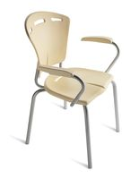 contemporary garden stacking chair with armrests 556 STAR srl