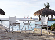contemporary garden stacking chair with armrests FLORIDA SUNNY BEACH RAUSCH Classics GmbH
