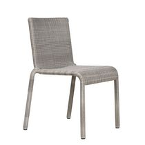 contemporary garden stacking chair  Tectona