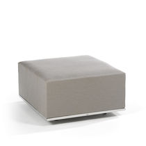 contemporary garden stool SUITE FOOTREST FISCHER MÖBEL