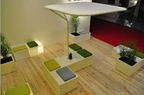 contemporary garden stool LOOK XAM PASSION DESIGN ClassicMobil