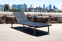 contemporary garden sun lounger (adjustable backrest) COAST Harbour Outdoor