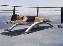 contemporary garden sun lounger (stacking) O-ZON by Kris Van Puyvelde Royal Botania