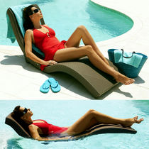 contemporary garden sun lounger  Infinita Corporation