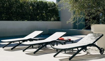 contemporary garden sun lounger ELITE by Centre R&D Fast FAST SPA