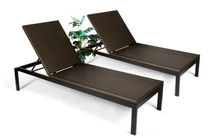 contemporary garden sun lounger (stacking) TF 0733 Nature Corners Co.,Ltd.