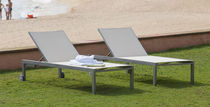 contemporary garden sun lounger with casters OLIMPIA  Balliu Export
