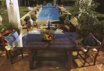 contemporary garden table MESA DE TRILLO ALTA CONELY