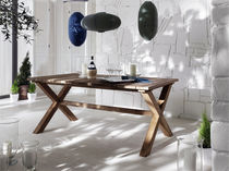 contemporary garden table RECLAIM TEAK DINING TABLE by GREENFACE Infinita Corporation