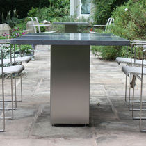 contemporary garden table DOBLE 160 FueraDentro