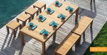 contemporary garden table (teak) IXIT Royal Botania - Red Label