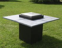 contemporary garden table (with hot plate) OUTDOOR: 510 Vulcania