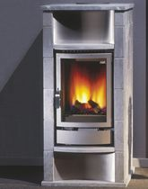 contemporary gas stove (soapstone) GMT 44/70-128 Flam