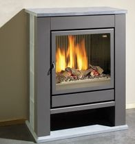 contemporary gas stove (soapstone) THEATER GMT 68/75  Flam