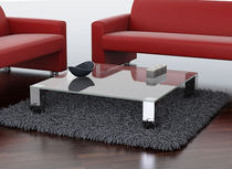 contemporary glass coffee table MIRAGE Swanky Design - Premium Contemporary Furniture