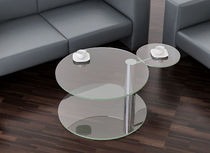contemporary glass coffee table HULA Swanky Design - Premium Contemporary Furniture