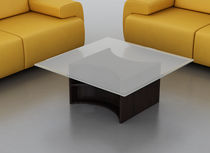 contemporary glass coffee table REMINGTON Swanky Design - Premium Contemporary Furniture