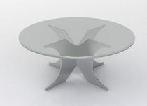 contemporary glass coffee table REVEL Swanky Design - Premium Contemporary Furniture