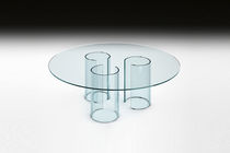 contemporary glass coffee table LUXOR TAVOLINO by Rodolfo Dordoni FIAM ITALIA