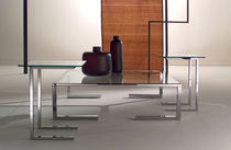 contemporary glass coffee table TEMPURA by Giovanna Azzarello ORSENIGO