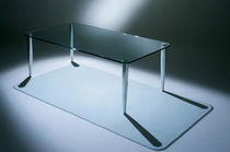 contemporary glass coffee table ARC ALI by Barry Davison DAVISON HIGHLEY