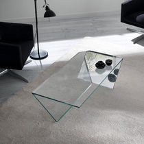contemporary glass coffee table TI design Gonzo-Vicari TONELLI Design