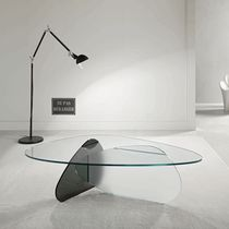 contemporary glass coffee table KAT by Karim Rashid TONELLI Design