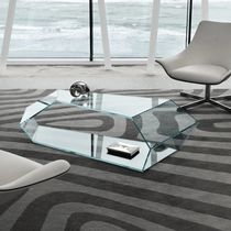 contemporary glass coffee table DEKON 2 by Karim Rashid TONELLI Design