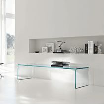 contemporary glass coffee table CAPO HORN by Tonelli TONELLI Design