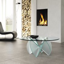 contemporary glass coffee table ROSA DEL DESERTO by D'Urbino&Lomazzi TONELLI Design