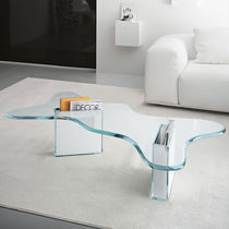 contemporary glass coffee table SPLASH by Karim Rashid TONELLI Design