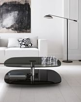 contemporary glass coffee table LESSICO by Emilio Nanni TONELLI Design