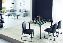 contemporary glass dining table LGD09 Legends Trading CO.Ltd