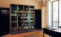 contemporary glass front bookcase ZIBALDONE by Carlo Scarpa Bernini