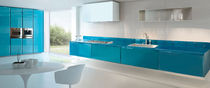 contemporary glass kitchen (lacquered glass) SYSTEM30: CONCHIGLIA SCIC