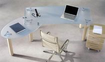 contemporary glass office desk GIOVE Arcadia