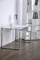contemporary glass office desk MILANO SABINOAPRILE/Interior Design
