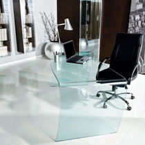 contemporary glass office desk MAGISTER unico italia