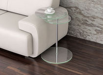 contemporary glass side table COCO Swanky Design - Premium Contemporary Furniture