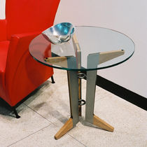 contemporary glass side table COBAN  Gitane Workshop