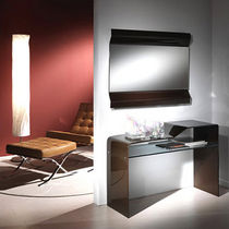 contemporary glass sideboard table EVA by Esseci Associati L.A. Vetreria di Appiani arch. Gianni