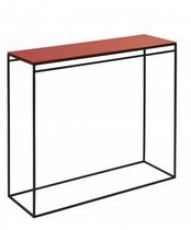 contemporary glass sideboard table LOFT SAMI SADER