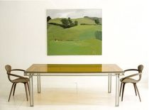contemporary glass table T-102 by Jose Pascual Boxx Furniture