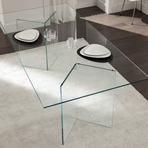 contemporary glass table BACCO by Tonelli TONELLI Design