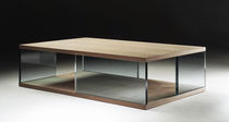 contemporary glass coffee table OCEAN FLEXFORM