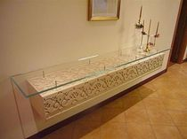contemporary glass wall shelf MENSOLA  Decor