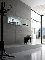 contemporary glass wall shelf  TONELLI Design